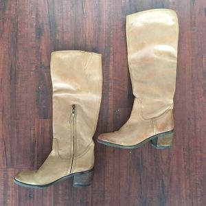 Sam Edelman Boots in tan 7.5